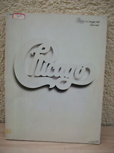 original Chicago at Carnegie Hall 1971 Songbook PIANO VOCAL Notenbuch Book Live