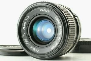 【 NEAR MINT 】 Canon New FD NFD 35mm f/2 MF Wide Angle Lens from JAPAN #1814