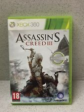 JEU XBOX 360 ASSASSIN'S CREED III AVEC NOTICE
