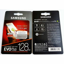 SAMSUNG EVO Plus Micro SD 128GB Class10 U3 Flash Memory Card w/SD Adapter 128GB