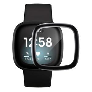 Fitbit Versa 3 / Sense Panzerfolie Screen Protector Display Schutz Glas Folie