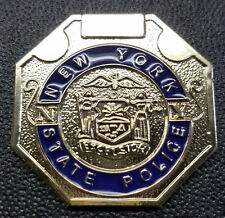 New York State Police Trooper's 1-Inch Mini Octogon Pin
