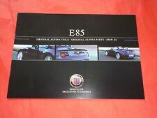 BMW ALPINA Z4 E85 Original Alpina Teile Prospekt Brochure von 2004
