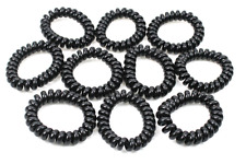 Spiral Hair Bands Telephone Wire Styled Rubber Rope Bands Headwer Elastic 6x