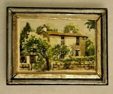 Dollhouse Miniature Artisan Painting Artist Made Bobbie Simmons