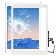 Apple iPad Air Display Displayglas TouchScreen Home Button Screen Scheibe Weiss