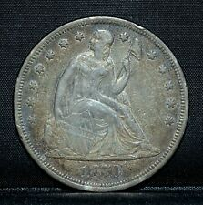 1870-P $1 SEATED LIBERTY DOLLAR ✪ XF EXTRA FINE ✪ SILVER L@@K NOW ◢TRUSTED◣