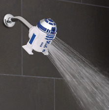 Disney Star Wars R2-D2 Droid 3 Spray Setting Fixed Shower Head Oxygenics New