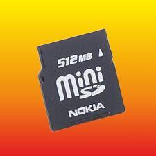 512 MB ORIGINAL NOKIA MINI SD MEMORY CARD