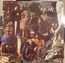 BEAR Greetings Children of Paradise + Lyric Sheet '68 Psych & Blues Rock Verve