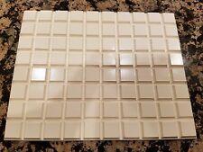 80 x 3M Bumpon Bumper Square, Tapered 12.7mm x 12.7mm x 10mm SJ5023