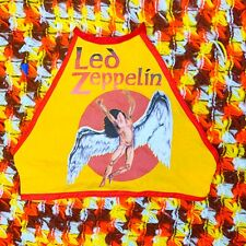 Rad Vintage 70s Style Led Zeppelin band t shirt Halter Top