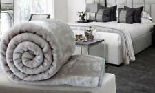 Luxury Faux Mink Fur Throw Over Blanket Fleece Soft Warm Sofa Bed Pet Protector