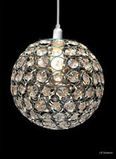 Modern Chandelier Style Ceiling Pendant Light Shade Acrylic Crystal Glass Shades DS1347