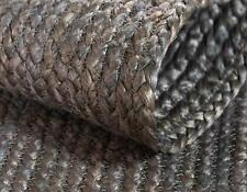 Rug Natural Jut Grey Colour 2x3 feet Handmade Area Rug Vintage Reversible Rug