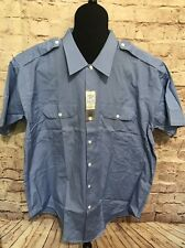 Vintage NWT Sanforized Simpons Soulette Union Made Awesome Hipster Rockabilly XL