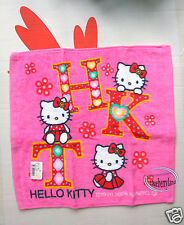 Sanrio HELLO KITTY Square Face Towel home kitchen ladies girls hand towels Pink