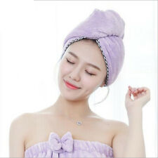 Dry Hair Hat Bath Shower Cap Fast Drying Hair Absorbent Towel Bath Wrap Turban