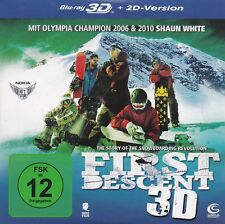 Blu Ray First Descent - The Story Of The Snowboarding Revolution - 3D + 2D - NEU