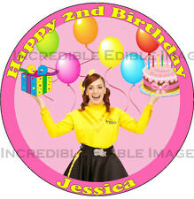 Wiggles Emma Edible ICING Cake Topper Party Decoration