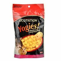 Ecotrition Yogies Hamster/Gerbil/Rat Treats, Cheese Flavor, 3.5-Ounce