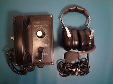 IMCOS MULTI WAY SELF POWERED TELEPHONE  HEADSET WITH MICROPHONE NAVY SHIP PHONE