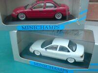 1/43 X 2 MINICHAMPS FORD MONDEO  MKI 4/DOOR