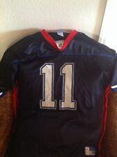 Drew Bledsoe #11 Buffalo Bills NFL Football Reebok Blue Jersey Size XL Mens