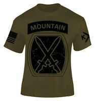 10th Mountain Division T-shirt I Patriot I Veteran I Freedom I Light Infantry