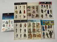 Vintage 1983 Star Wars Return of the Jedi Puffy 3-D Perk Up Stickers Lot NOS New