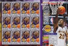 Gary Payton (Los Angeles Lakers) jugador de baloncesto de la NBA hoja de sellos de menta (2004)