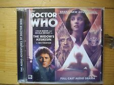 Doctor Who The Widow's Asssassin, 2014 Big Finish audio book CD