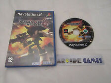 SHADOW THE HEDGEHOG PS2 PLAYSTATION 2 (envoi suivi, vendeur pro)