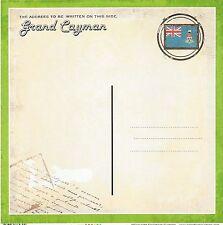 Sc - Grand Cayman Postcard Scrapbooking Paper - 1 sheet - Vintage 36430