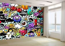 Graffiti elements and characters Wallpaper Mural Photo 12884801 budget paper