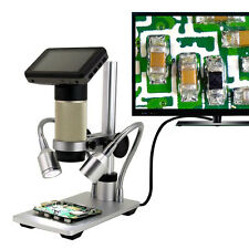 HDMI Full HD Digital Inspection Microscope PCB Repair 10x-300x SMT SMD Camera
