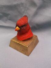 resin red cardinal mascot trophy award Rc485