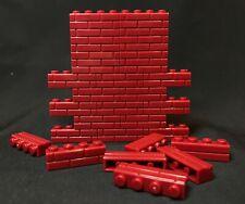 FIG-B150-RD: 1/12 Brick Building Block x 150 pcs for Diorama Brick Wall - Red