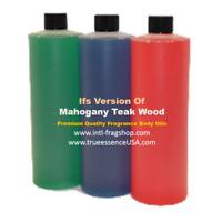 Ifs Version of, Mahogany Teak Wood, Premium Quality Oil Based Fragrance