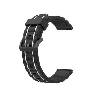 For Samsung Galaxy Watch 3 41mm Active 2/3 Sport Silicone Band Bracelet Strap