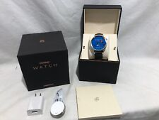 Huawei Watch 316L Stainless Steel with Black Leather Strap New