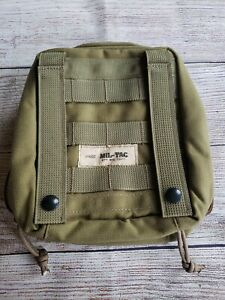 Modular MOLLE PALS Multi-Purpose Utility Pouch Tool Kit OD green never used.