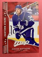 2018-19 Upper Deck MVP Eastern Stars #ES-3 Auston Matthews Toronto Maple Leafs