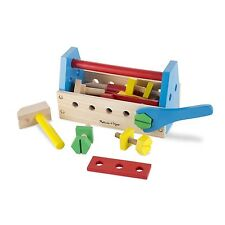 Melissa And Doug Classic Toy Wooden Take Along Tool Kit NEW Toys