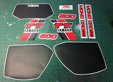 Yamaha TT 600 59 X 1983/85 Kit completo - adesivi/adhesives/stickers/decal
