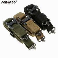 Multifunction Tactical Strap Two Point Adjustable Hunting steel Strap Gun Sling