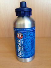 Trinkflasche Erdinger 500 ml 19 cm hoch Fahrrad Sport Outdoor Fitness