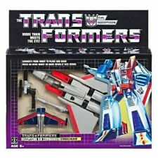 TRANSFORMERS G1 STARSCREAM REISSUE BRAND NEW SEALED HASBRO VINTAGE STYLE