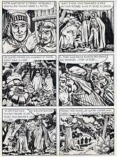 BOB LEGUAY  VOYAGE PALPITANT PLANCHE ORIGINALE TIM L'AUDACE ANNEES 1950 PAGE 24