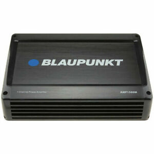 Blaupunkt AMP1500M  1500 Watts Monoblock ONE CH  CAR AMP